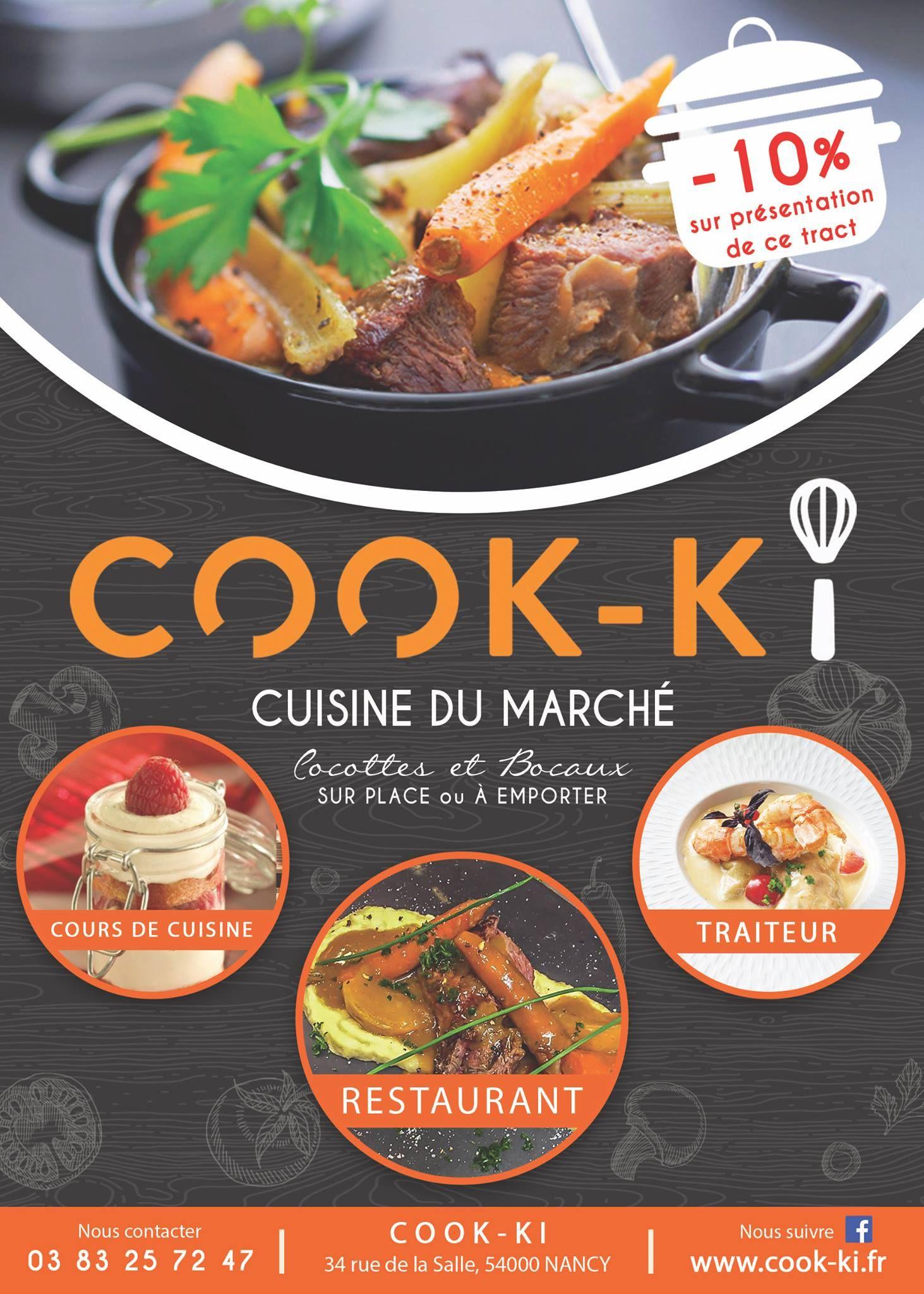 restaurant cook ki - lorraine tourisme