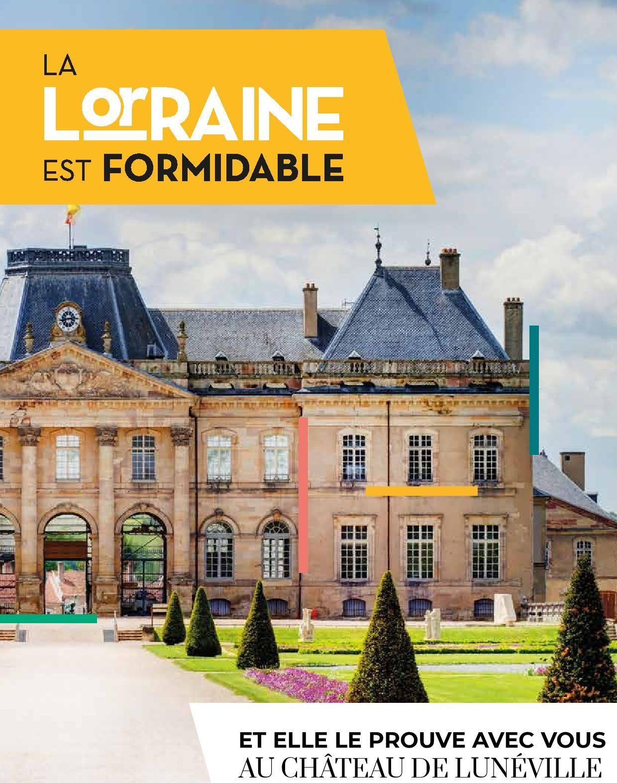 La Lorraine est formidable au Château de Lunéville les 28 et 29 Août 2021