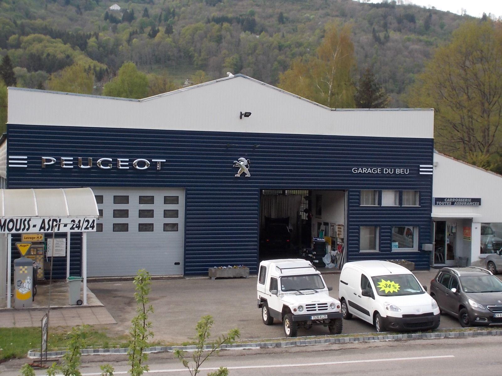 Carrosserie garage peugeot du beu lorraine tourisme for Garage peugeot gonneville sur honfleur