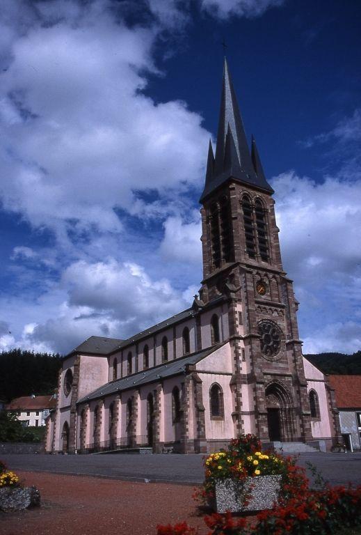 Eglise de saint maurice sur moselle lorraine tourisme - Office de tourisme moselle ...