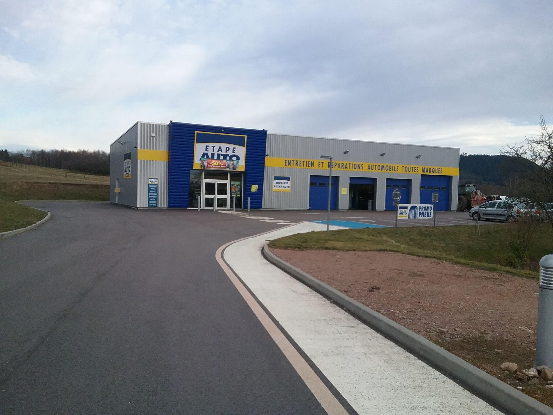 Garage etape auto lorraine tourisme for Garage parc auto auxerre
