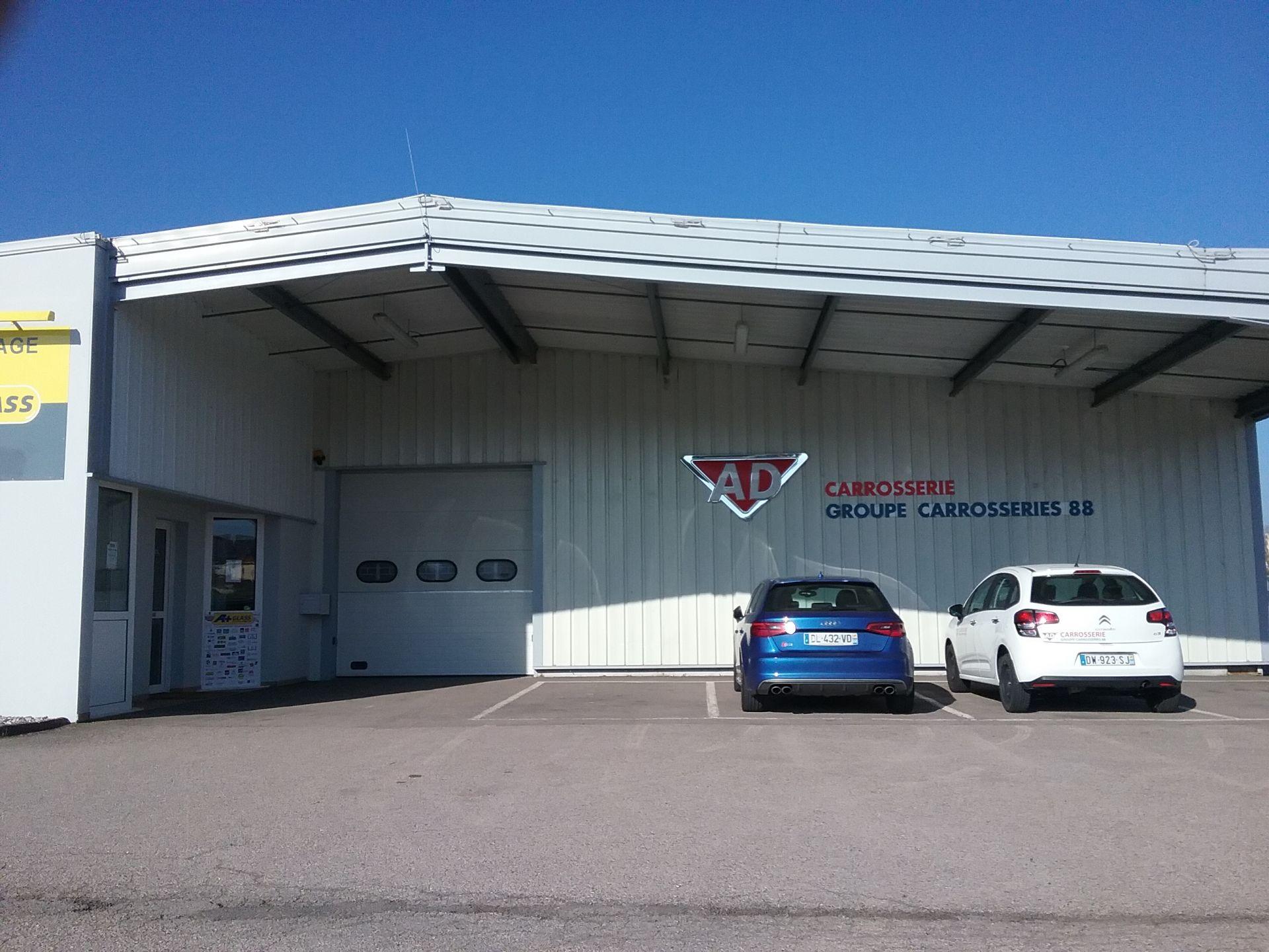 Garage ad carosserie remy lorraine tourisme for Garage ad la bresse