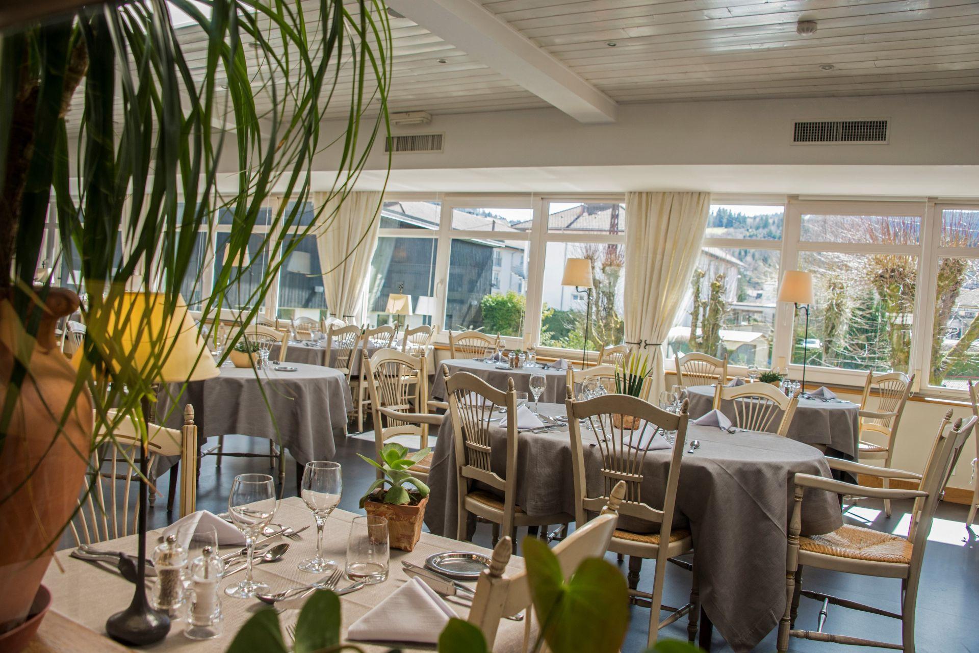 Restaurant la table du rouan gerardmer lorraine tourisme for La table du 9