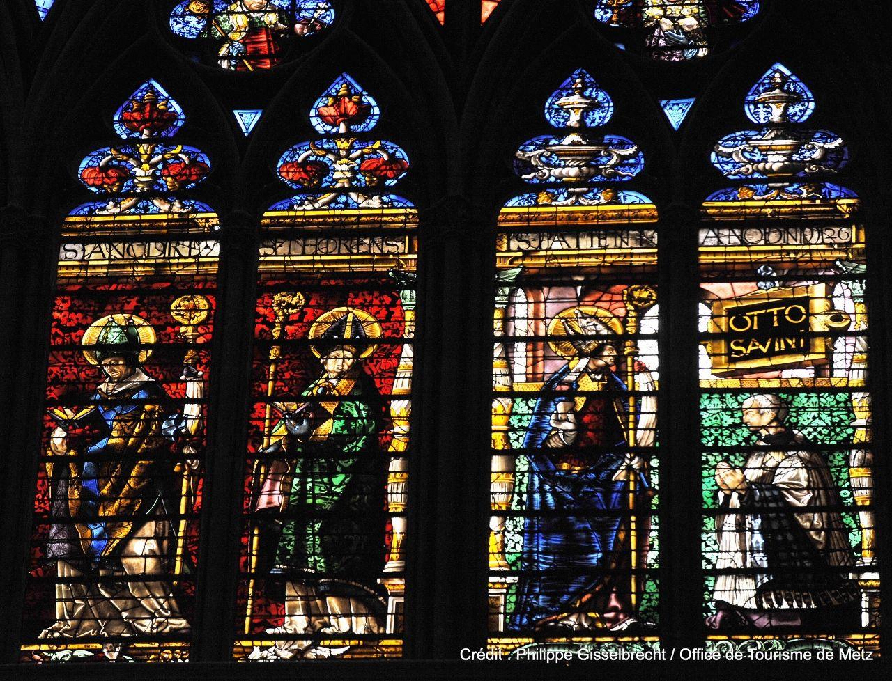 Vitraux Metz vitraux de la cathedrale saint etienne - lorraine tourisme