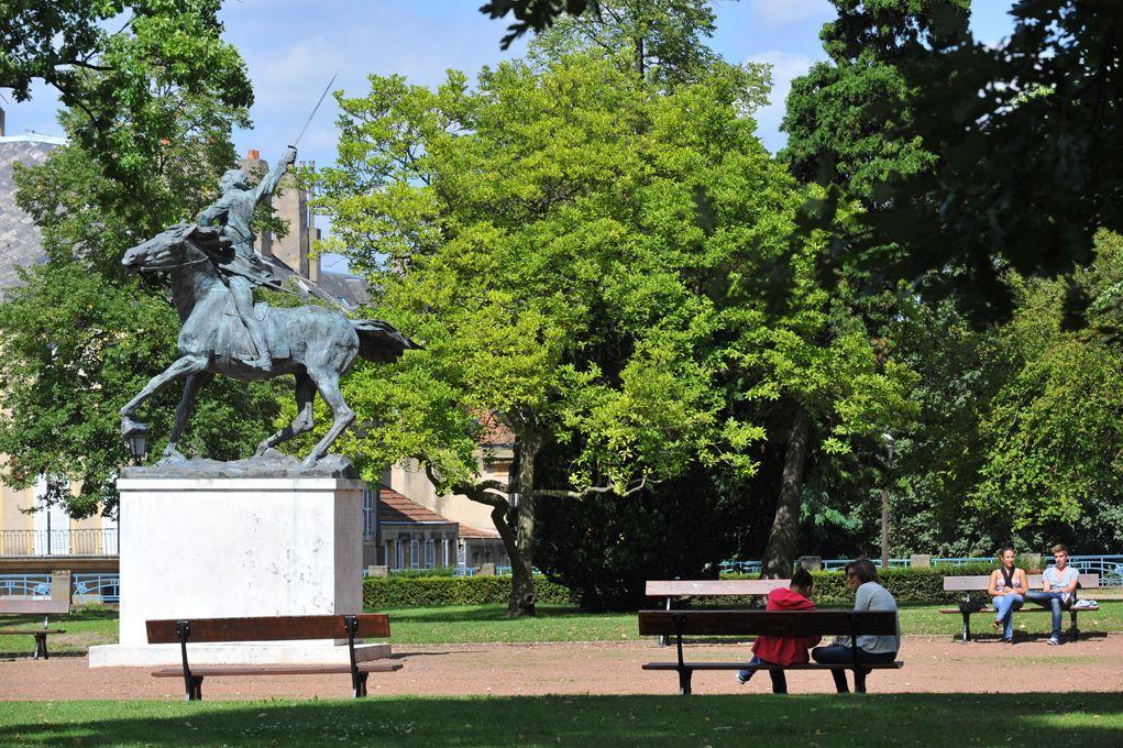 Jardin Boufflers Lorraine Tourisme