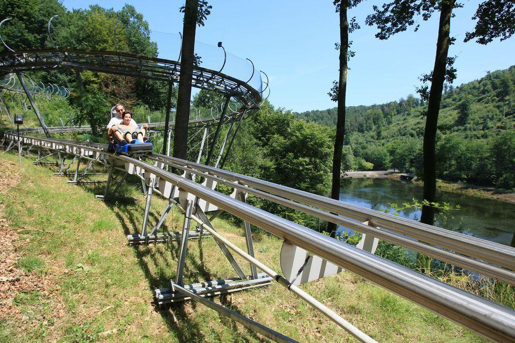 Luge alpine coaster lorraine tourisme - Plan incline de saint louis arzviller ...