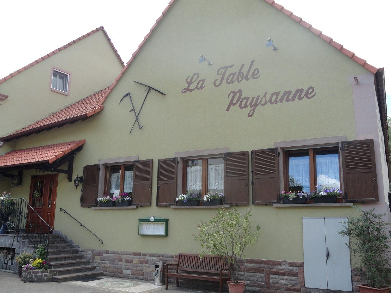 Restaurant la table paysanne lorraine tourisme for Restaurant la table de francois troyes