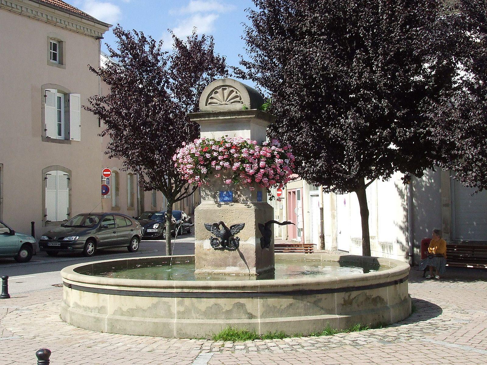 Les fontaines lorraine tourisme - Office du tourisme remiremont ...