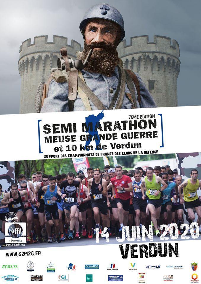 """Résultat de recherche d'images pour """"semi marathon meuse grande guerre 2018"""""""