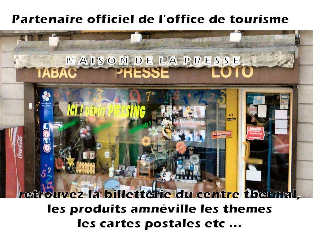 Maison de la presse amn ville lorraine tourisme - Office de tourisme amneville ...