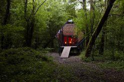 Matali Crasset, Le Nichoir. Vent des Forêts 2011 ©Jaehong Park