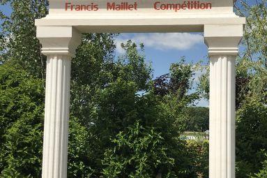 Francis Maillet Compétition