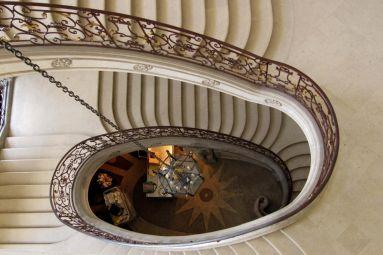 Escalier ovale- Abbaye des Prémontrés