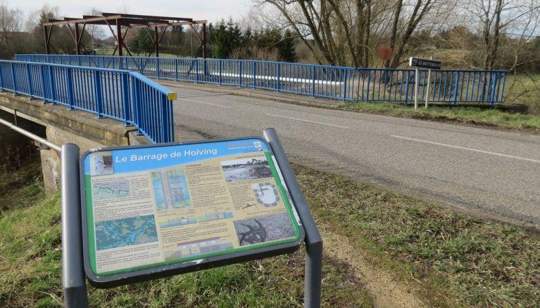 Route de la ligne maginot aquatique barrage de hirbach for Pole aquatique nancy