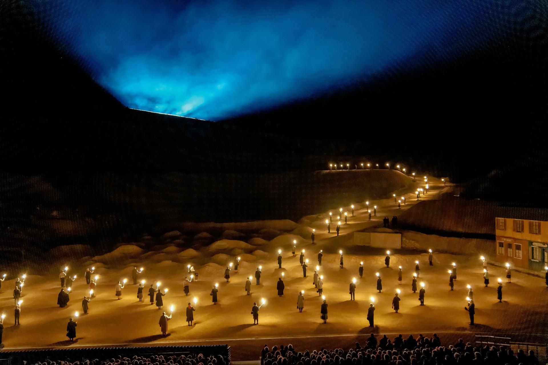 des flammes à la lumière behind the scenes lorraine tourisme