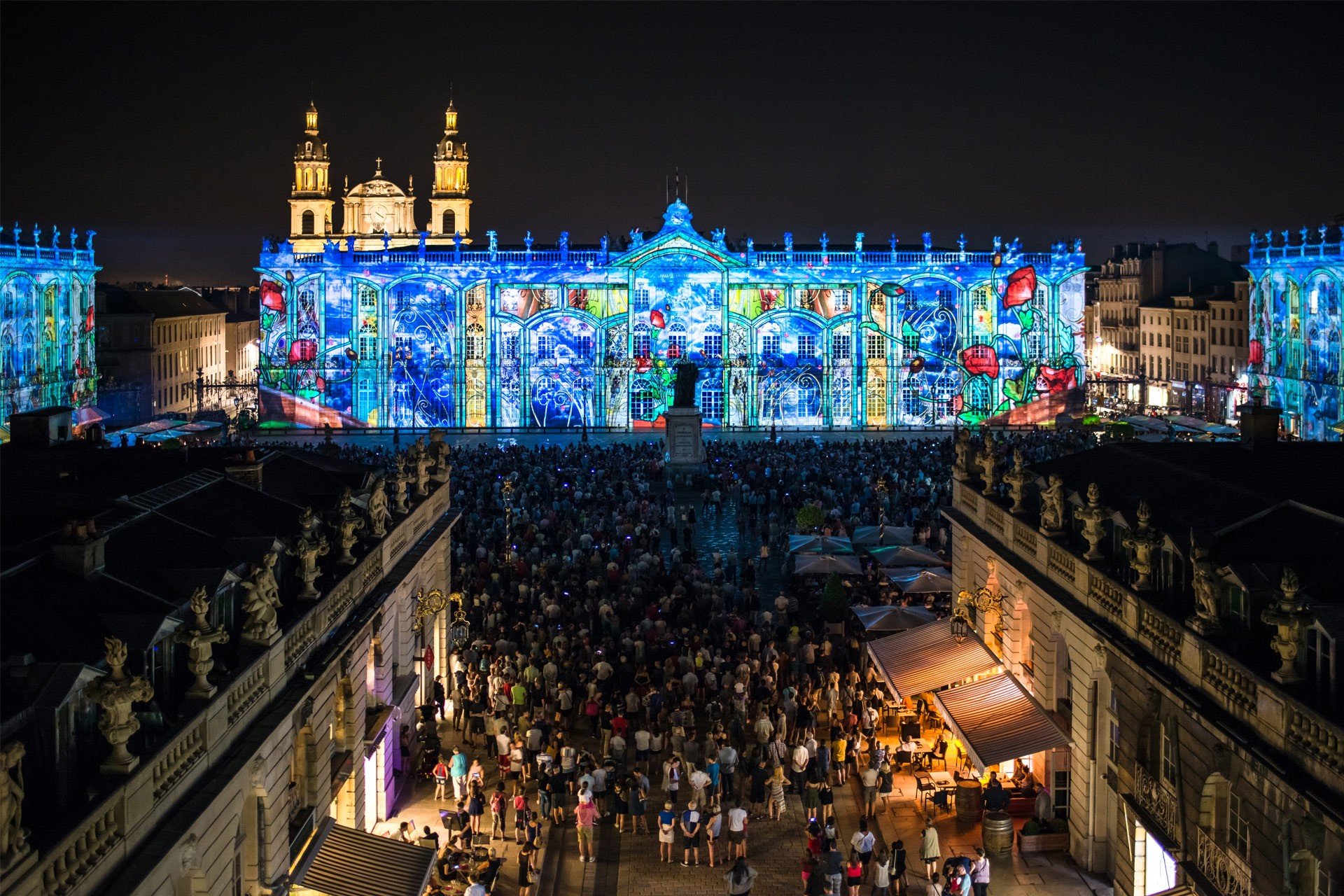 Laser show at Palace Square 2018 27