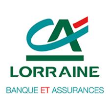 Logo Crédit Agricole Lorraine - Banque et Assurances
